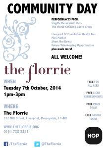 Florrie Community Day Poster