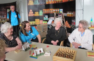 Jillian Ireland and Regenda residents Meet me at the Museum pilot March 14